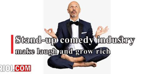 Stand-up comedy industry; make laugh and grow rich.